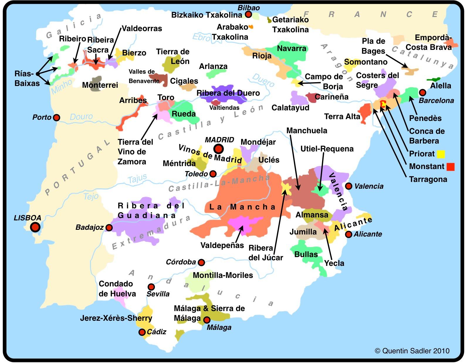 西班牙酒不输法国
